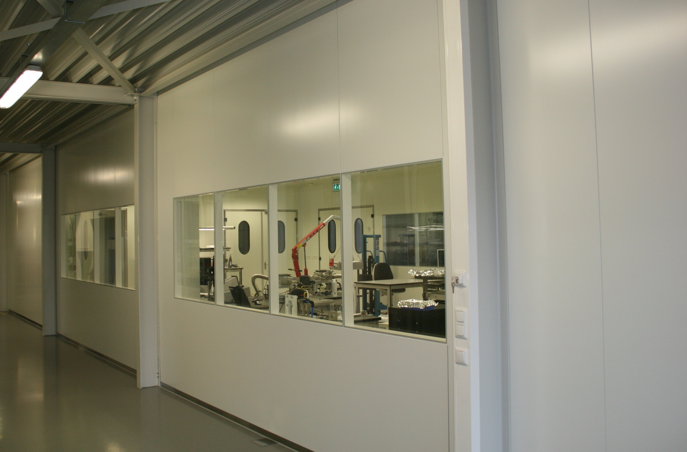 Cleanrooms: Cleanroom Demcon