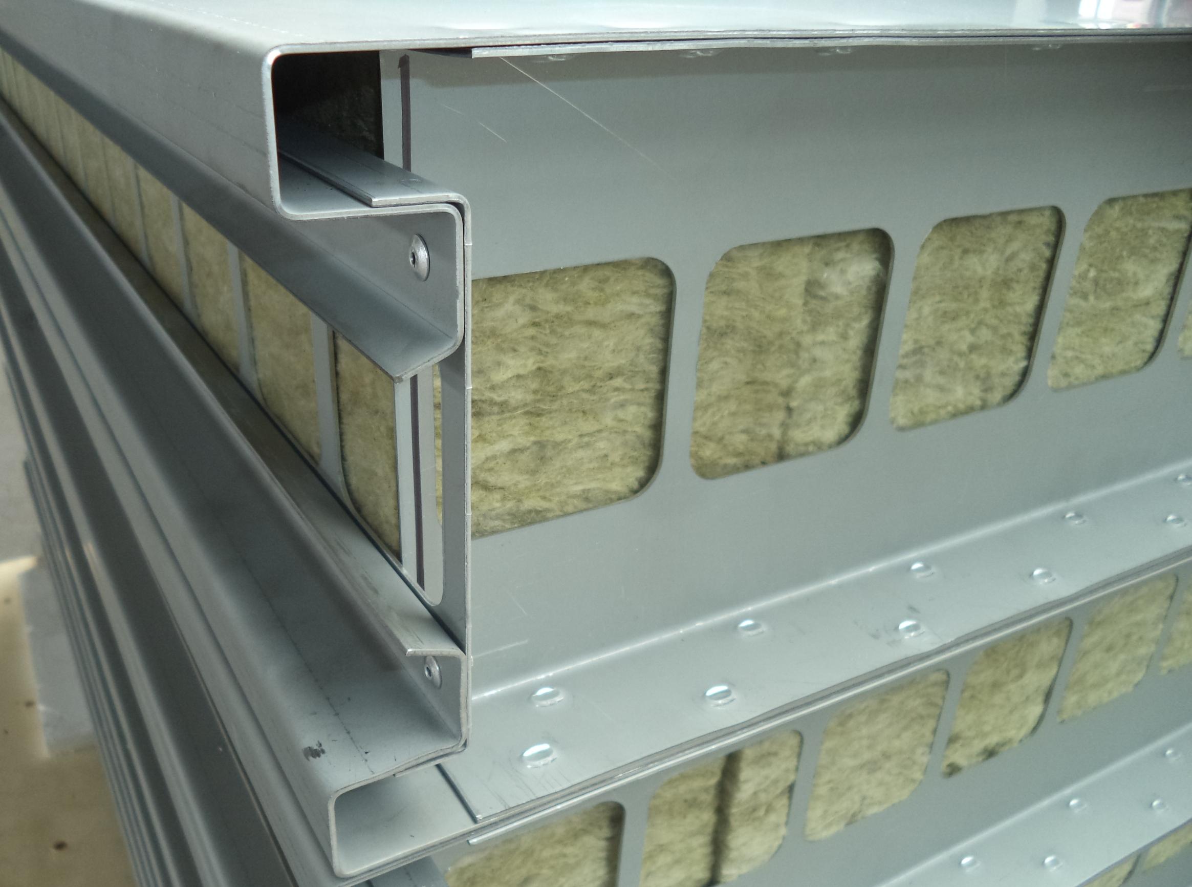 Ovenbouw: Ovenpanelen dik 160 mm